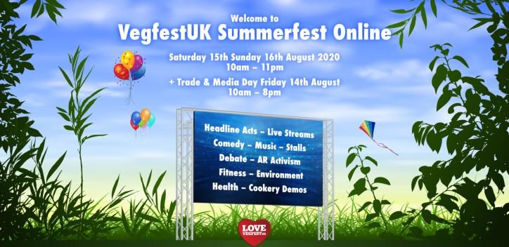 VegfestUK Summerfest Online