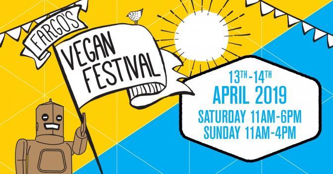 fargo 39 s vegan festival the vegan society. Black Bedroom Furniture Sets. Home Design Ideas