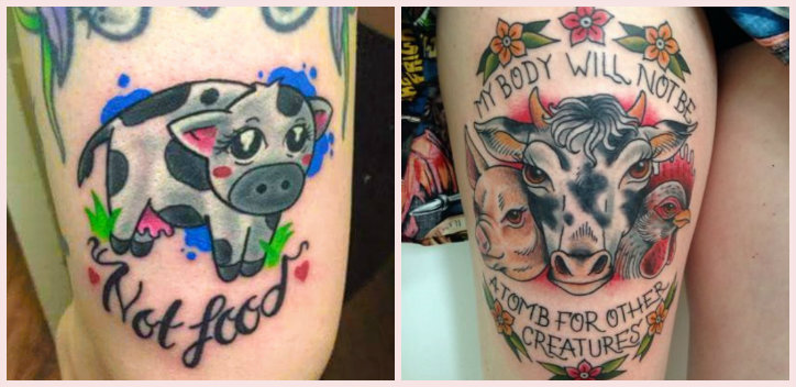 1bec8bc4973c9 Vegan tattoos   The Vegan Society