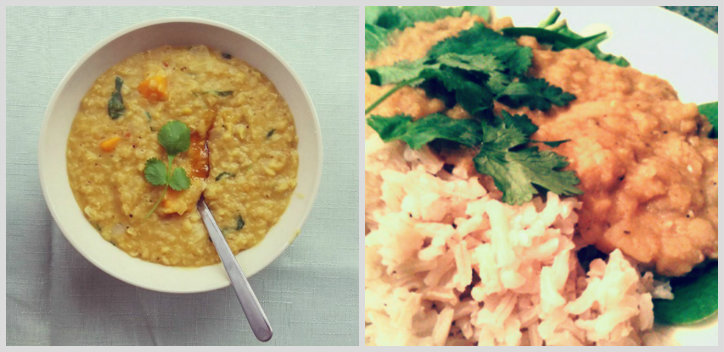 Coconut dhal (gluten-free)