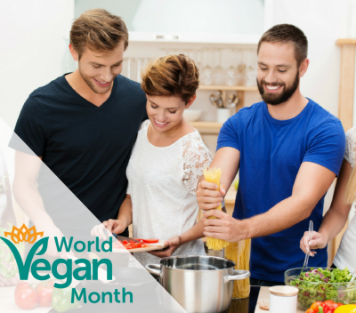 10 ways to celebrate World Vegan Month