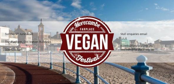 Morecambe Vegan Festival Banner Image