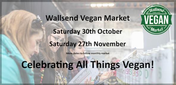 Wallsend Vegan Market Banner Image