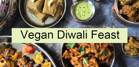 Vegan Diwali Feast MadeinHackney Banner