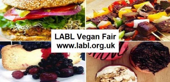 LABL Vegan Fair banner