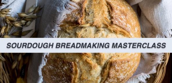 Sourdough Breadmaking Masterclass Banner