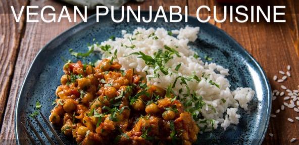 Vegan Punjabi Cuisine Cooking Class Banner
