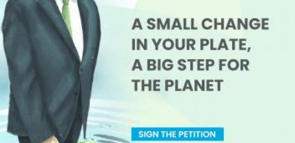 Plead for Planet animation featuring António Guterres