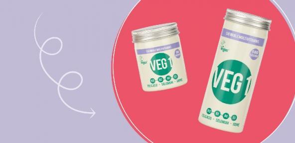 VEG 1 new packaging