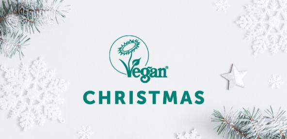 Vegan Trademark Christmas Banner