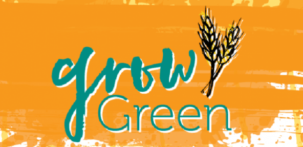 Grow Green Vegan Society Campaign Banner
