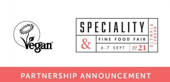 Vegan Trademark Logo and Food Fair Logo