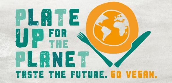 Plate Up  For The Planet Vegan Society Campaign Promotional Image