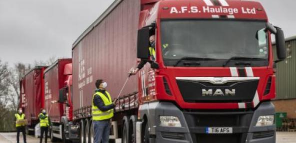 Seitan Truckers on the road