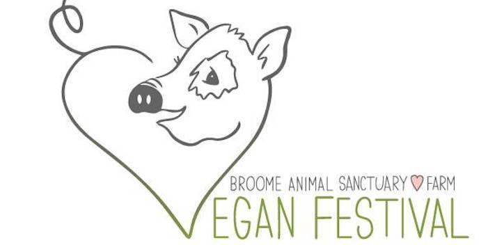 Broome Animal Sanctuary 4th Annual Vegan Festival Banner Image