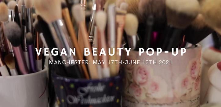 Vegan Beauty Pop-Up Store Banner