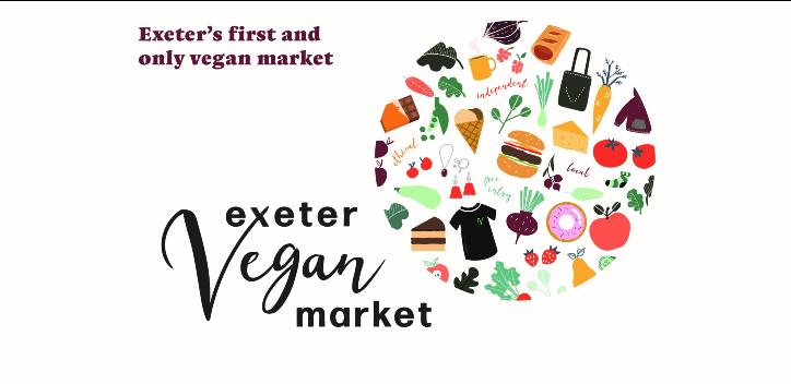 Exeter vegan market banner