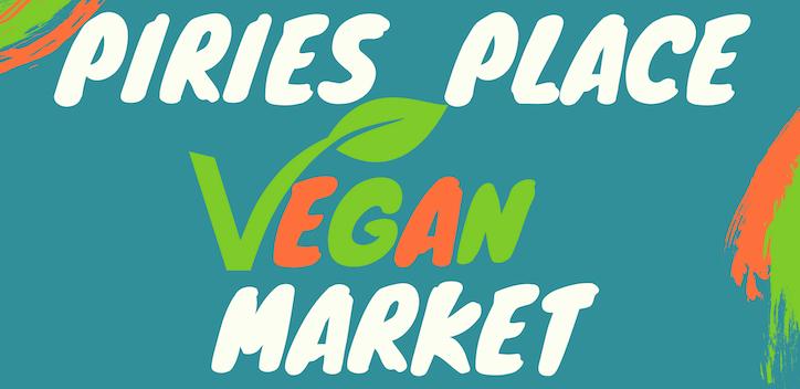 Piries Place Vegan Market Banner