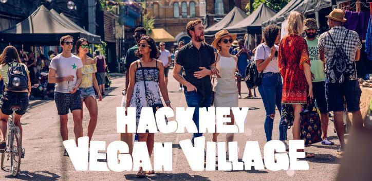 Hackney Vegan Village event banner