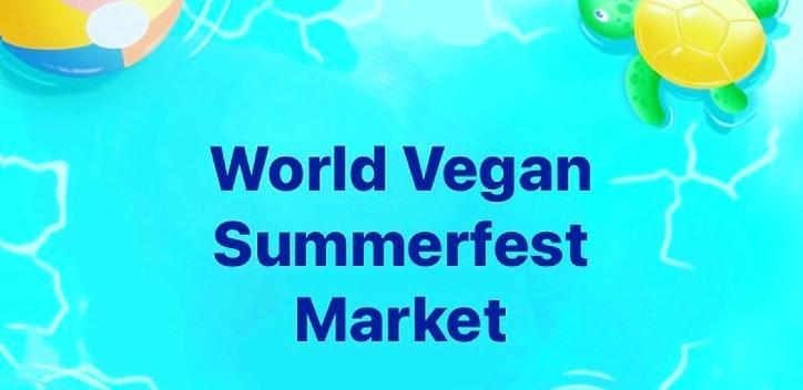 World Vegan Summerfest Market Banner