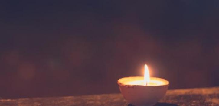 diwali; candle