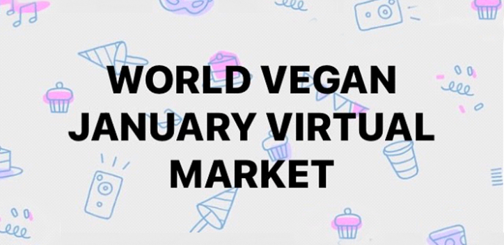 World Vegan January Virtual Market banner image