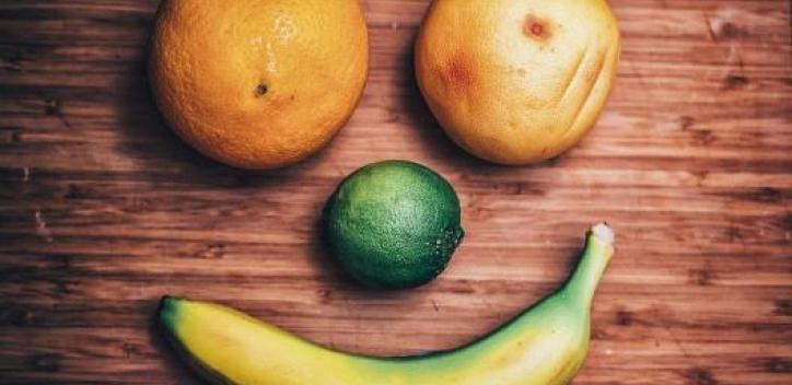 face; fruit