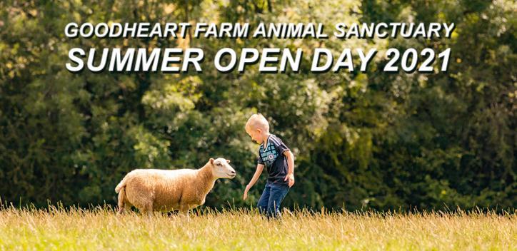 Goodheart Farm Animal Sanctuary Summer Open Day 2021 Banner Image