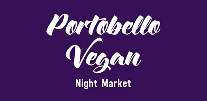 Portobello Vegan Night Market Banner