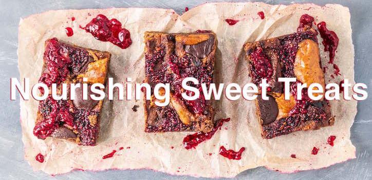 Nourishing Sweet Treats Online Cooking Class Banner Image