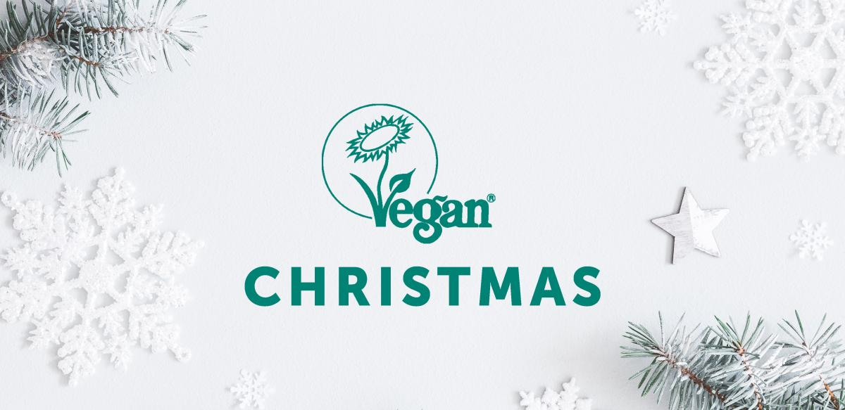 Vegan Trademark Christmas Banner