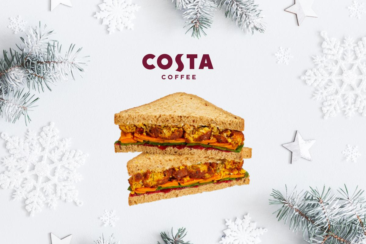 Costa Festive Veggies Under Vests Sandwich