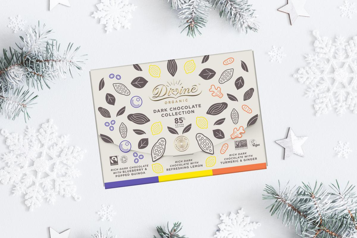 Divine Organic Dark Chocolate Collection