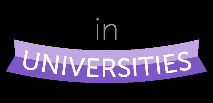 In universities