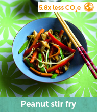 Peanut stir fry recipe