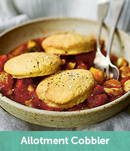 Allotment cobbler recipe