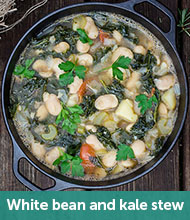 White bean and kale stew recipe