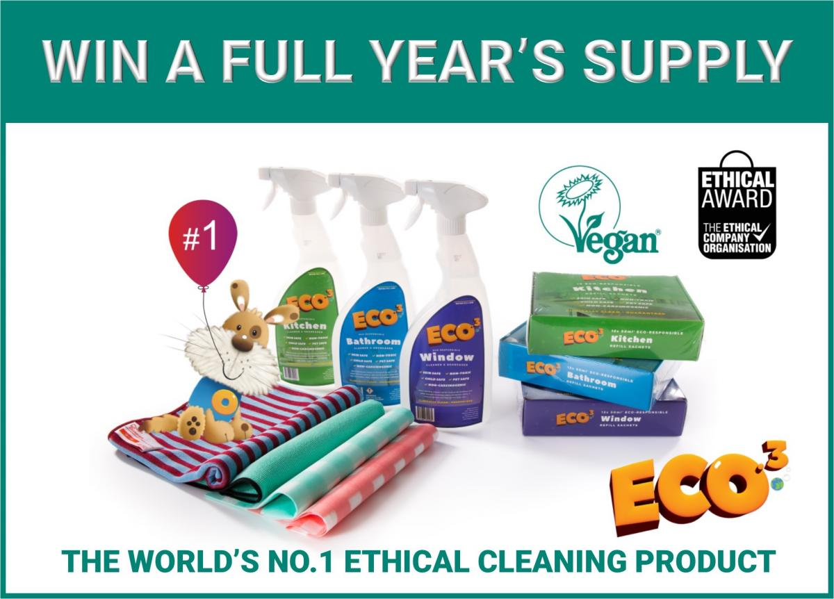 Eco.3 cleaning products