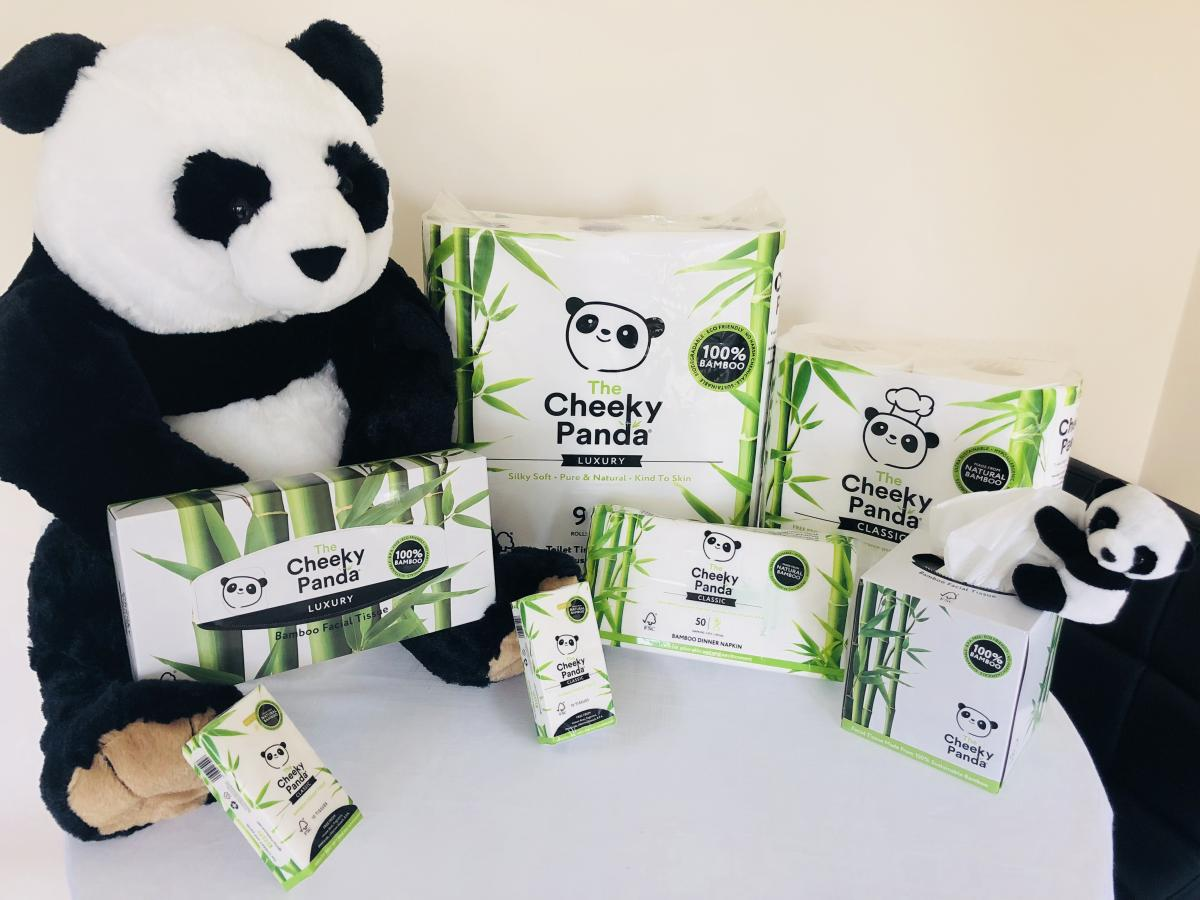 The cheeky panda competition prize