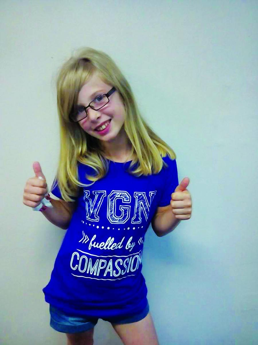 Emily is now a proud member of Teen VGN!