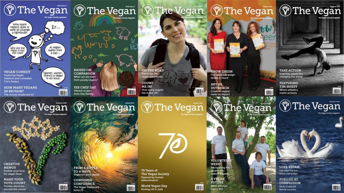 The Vegan Magazine The Vegan Society