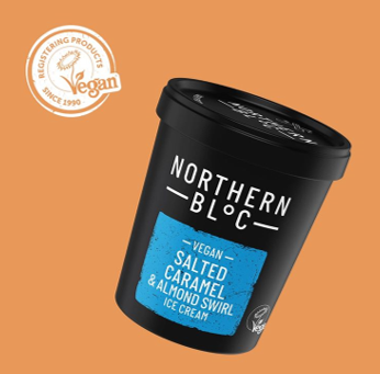 Vegan ice cream - Northern Bloc