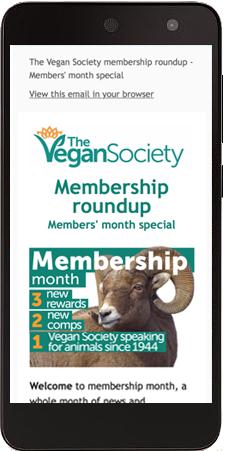 10 reasons to join The Vegan Society | The Vegan Society