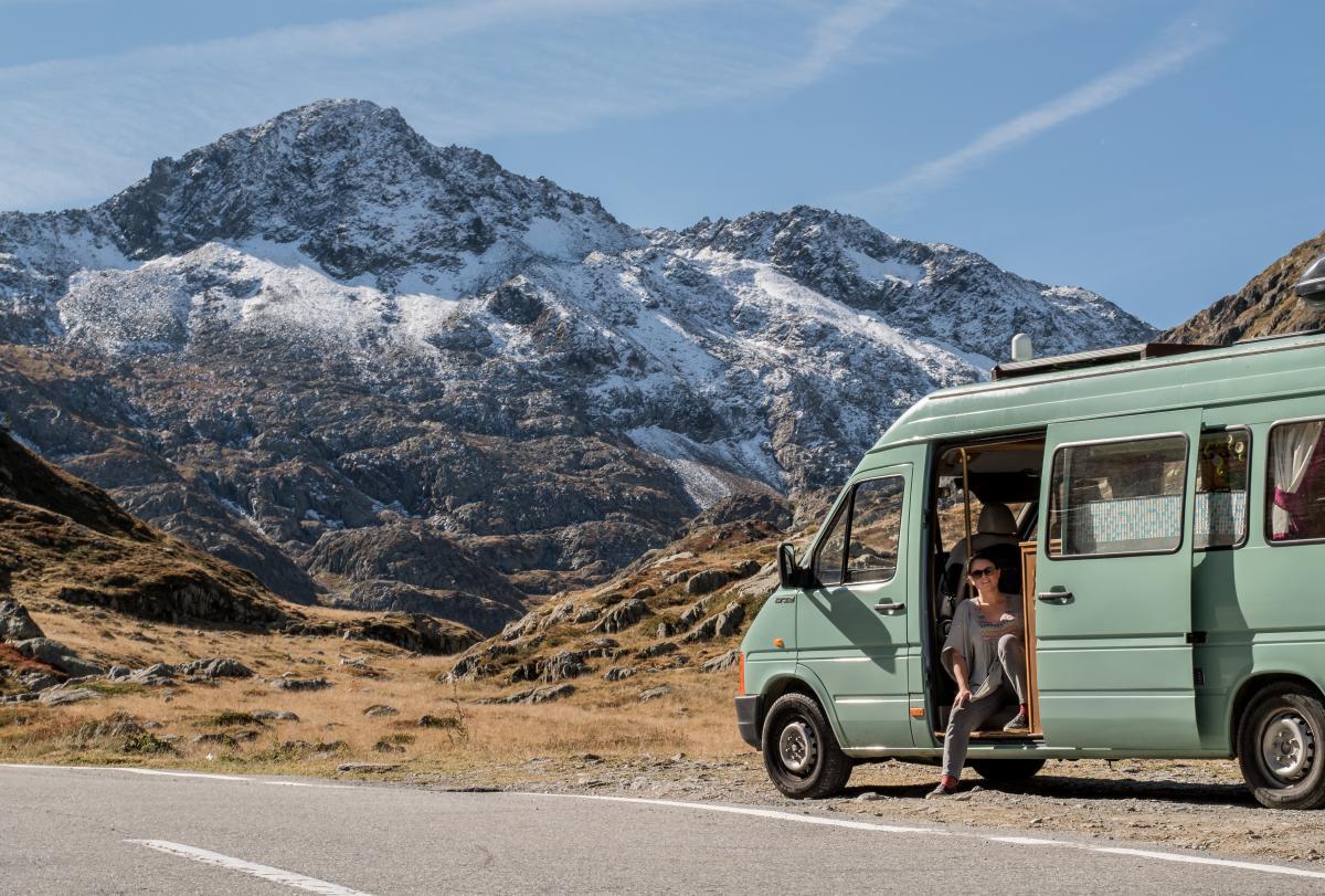 Campervan in Switzerland