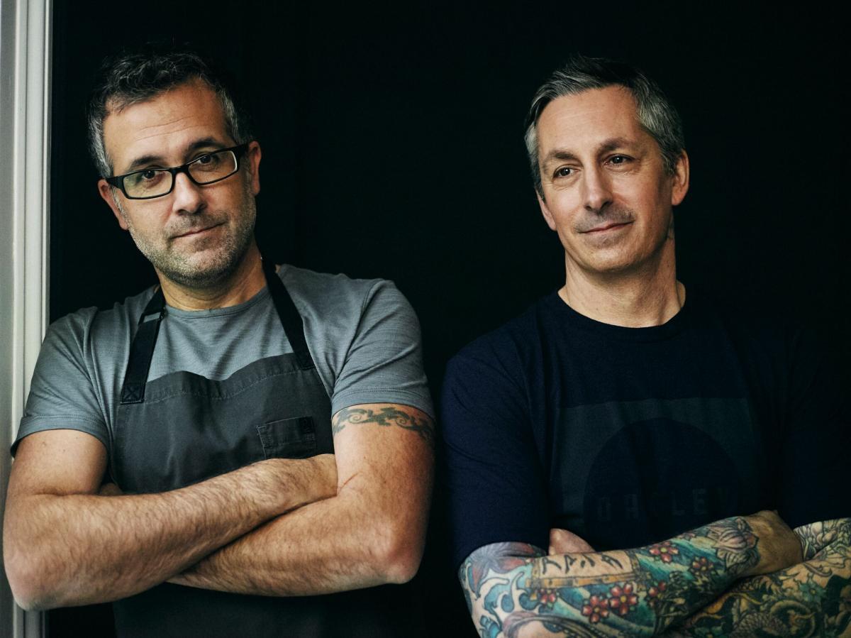 Derek Sarno and Chad Sarno