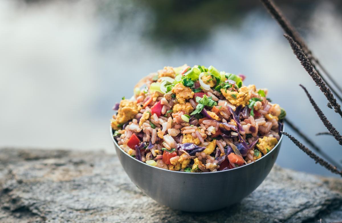 Tofu fried rice - Victoria's Creative Kitchen