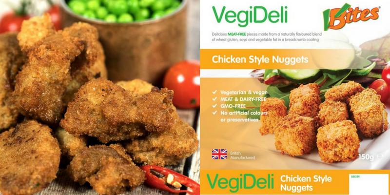 VBites chicken nuggets