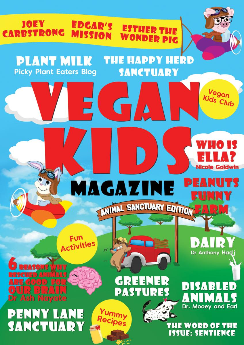 Vegan Kids Magazine cover