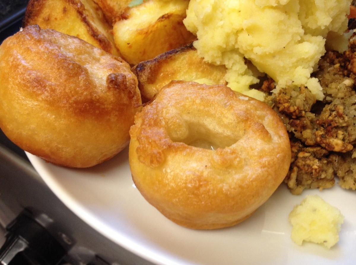 vegan yorkshire puddings