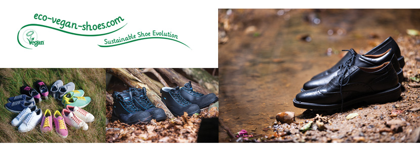 Eco vegan shoes - walking boots and normal shoes